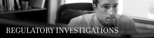 Regulatory Investigations Strip