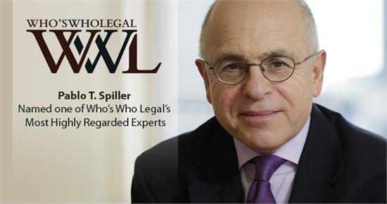 Experts Named in 2015 Who's Who Legal